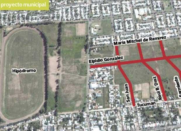 Empieza la obra que extender calles en el norte de la for Barrio ciudad jardin norte bogota