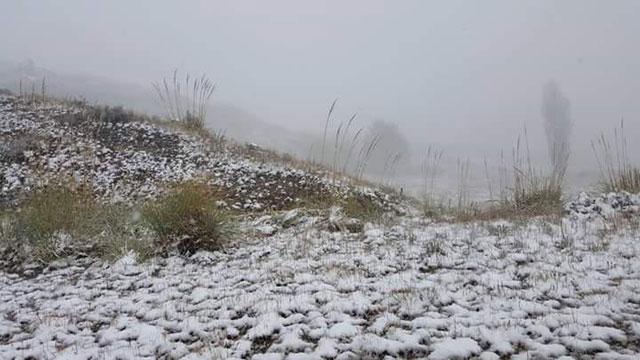 La primera nevada del a o en la provincia de san luis for Camping en el trapiche san luis